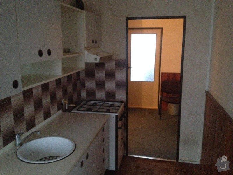 Rekonstrukce bytového jádra, stavební úpravy kuchyně, obložky: 10