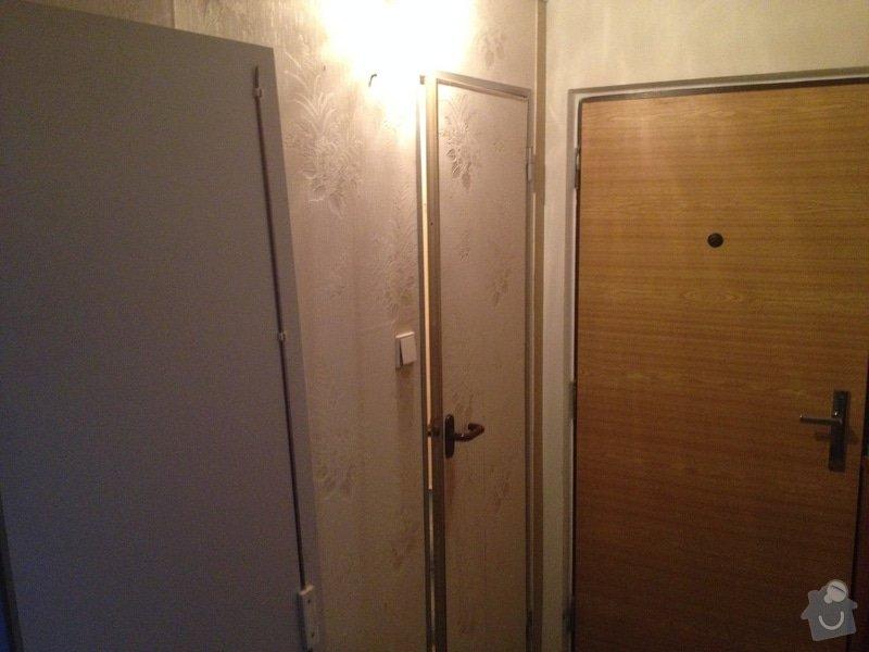 Rekonstrukce bytového jádra, stavební úpravy kuchyně, obložky: 14
