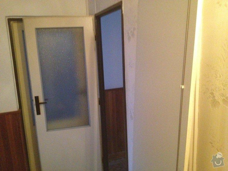 Rekonstrukce bytového jádra, stavební úpravy kuchyně, obložky: 16