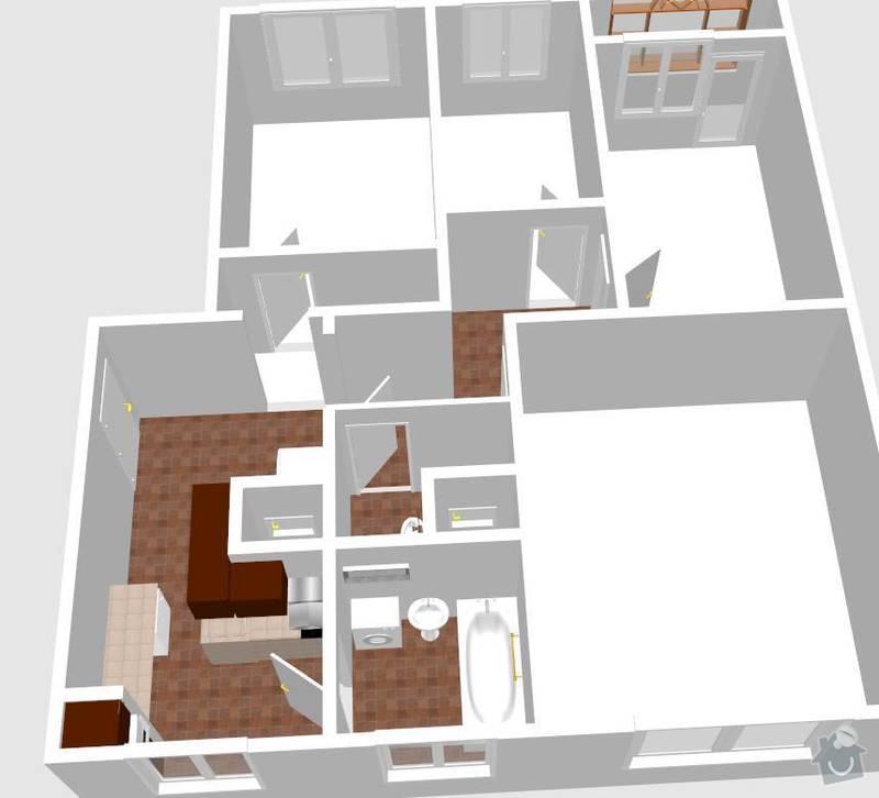 Rekonstrukce bytu: model