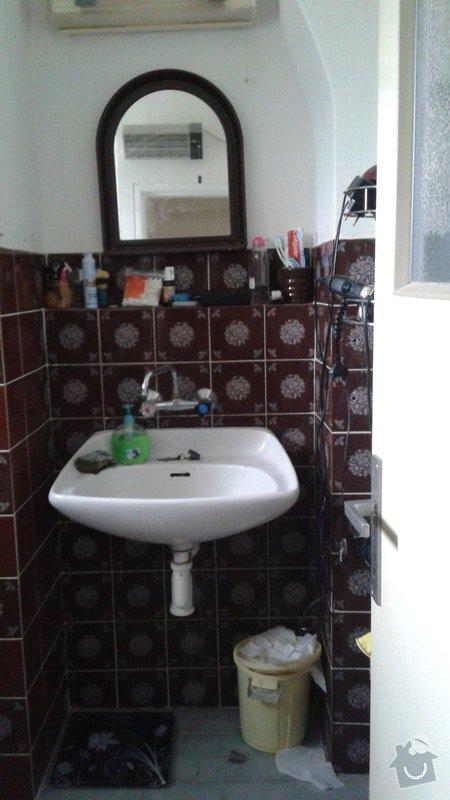 Rekonstrukce koupelny + záchoda: 20150428_173032