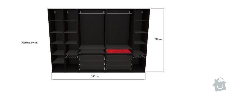 Výroba šatní skříně : Satni_skrin