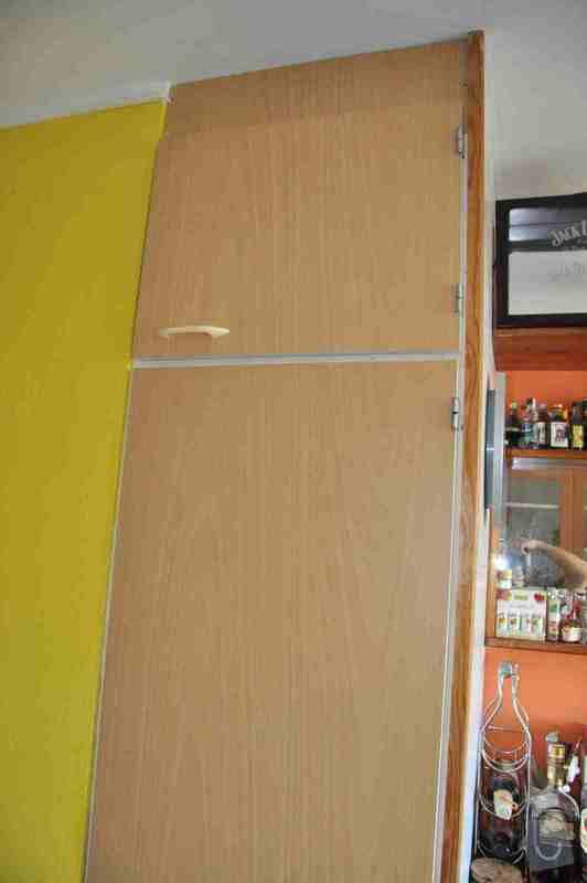 Zhotovení části skříně ve zdi: skrin2