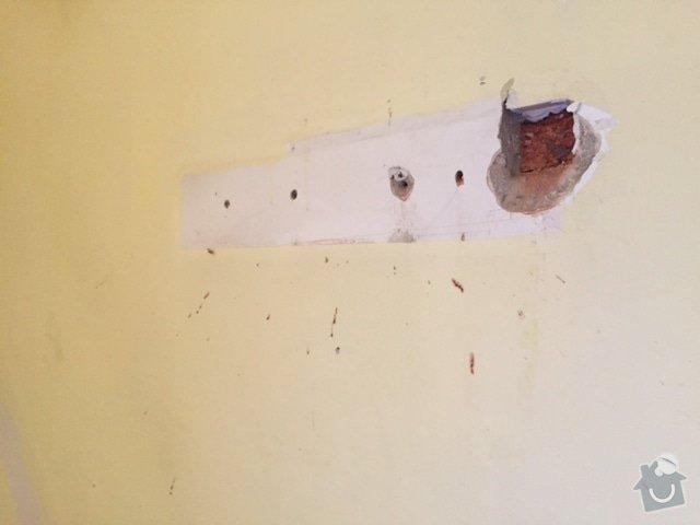 Malířské práce obývací pokoj: 2