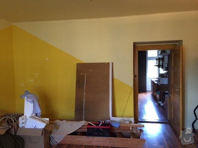 Malířské práce obývací pokoj: 3