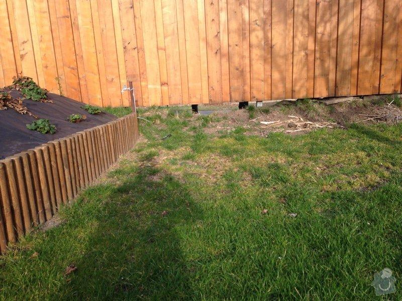 Úprava zahrady a dodělání plotu: dosyp2