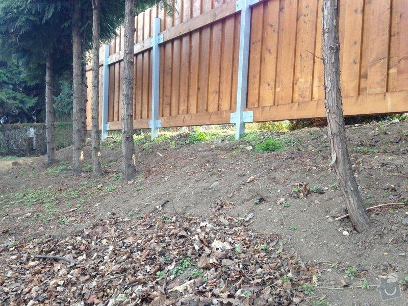 Úprava zahrady a dodělání plotu: dosyp1