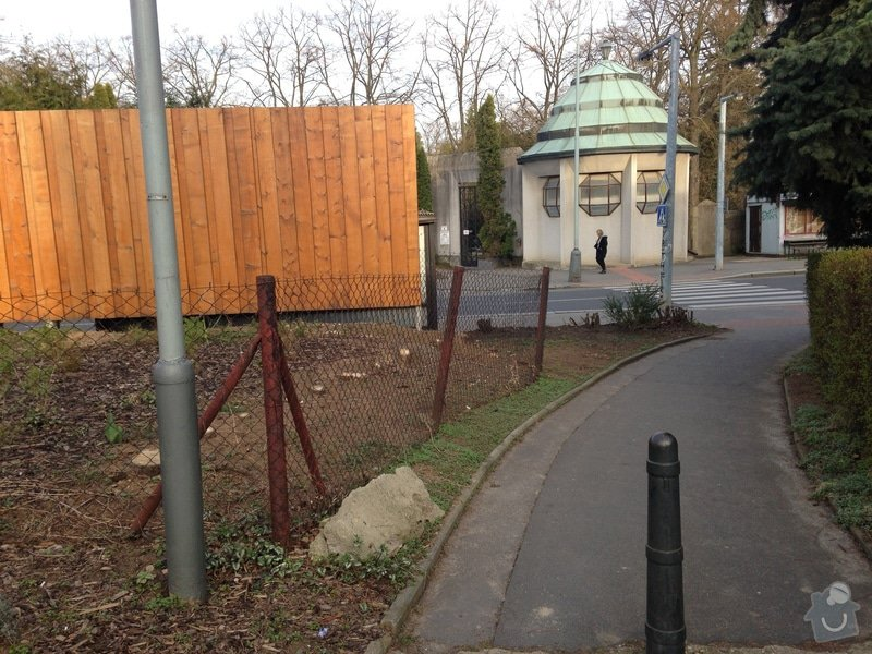 Úprava zahrady a dodělání plotu: tuje_plot
