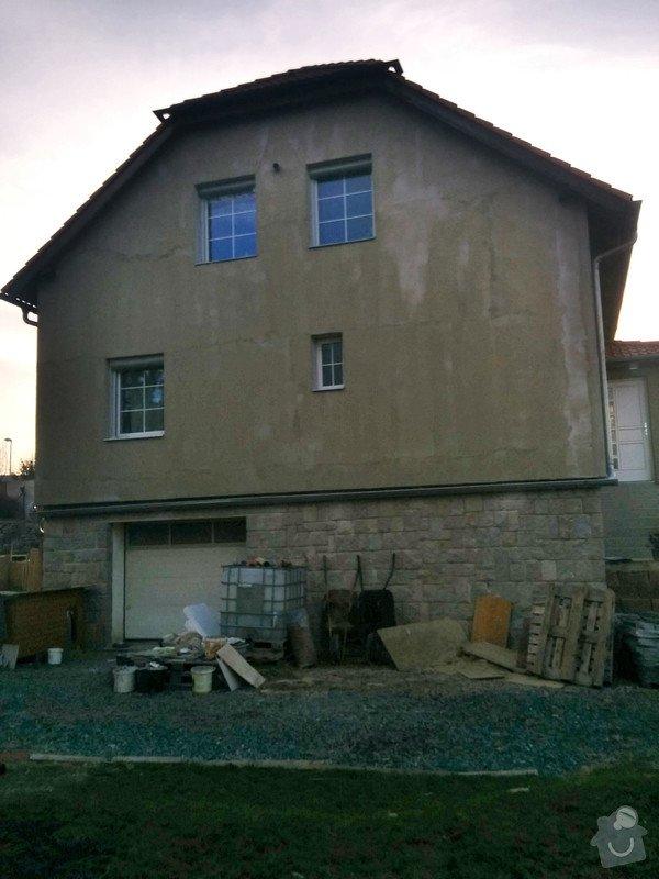 Fasada dom 300m2 + leseni: C360_2015-03-17-16-47-28-014
