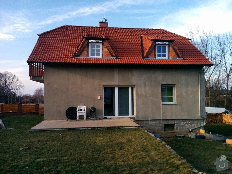 Fasada dom 300m2 + leseni: C360_2015-03-17-16-49-03-142