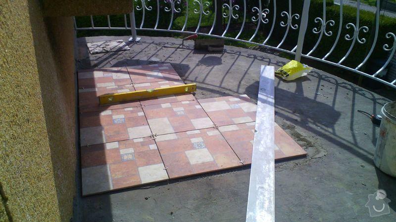 Pokládka dlažby balkon: IMG-20150427-WA0000