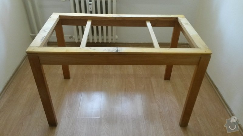 Truhlarske prace, renovace jidelniho rozkladaciho stolu: image
