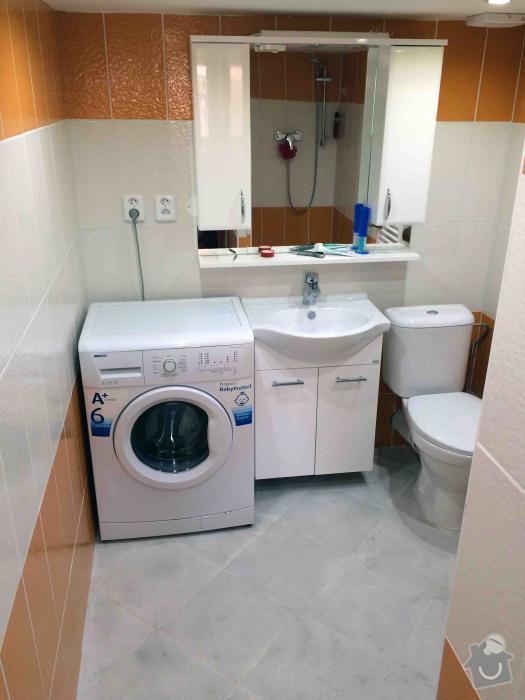 Předělání neobývané místnosti na obytnou mísrnost a koupelnu: 3