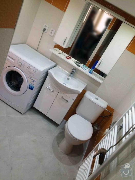Předělání neobývané místnosti na obytnou mísrnost a koupelnu: 1