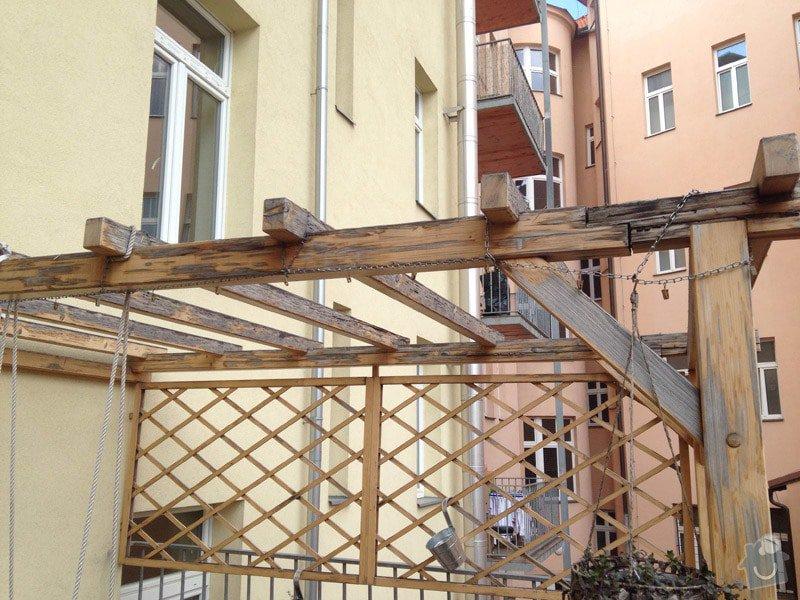 Renovace pergoly: pergola-03