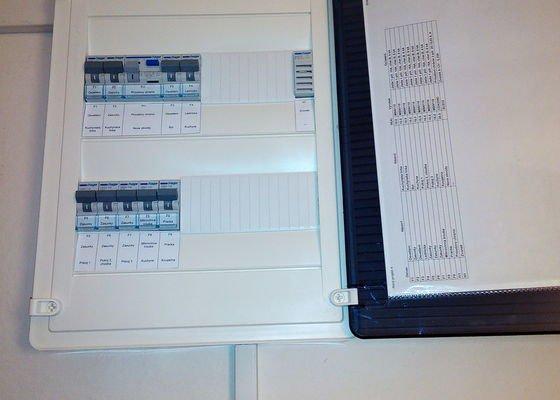 Kompletní rekonstrukce elektroinstalace panelového bytu 3+1