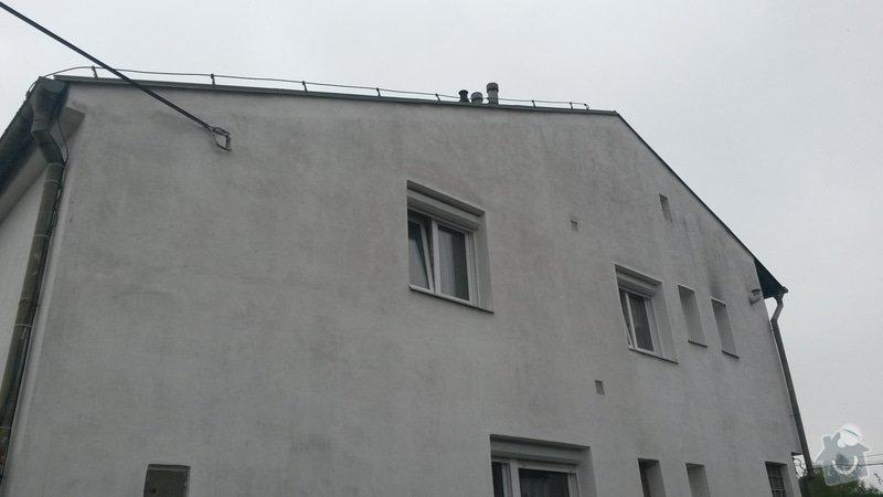 Rekonstrukce střechy RD Rokycany: 20150506_154436