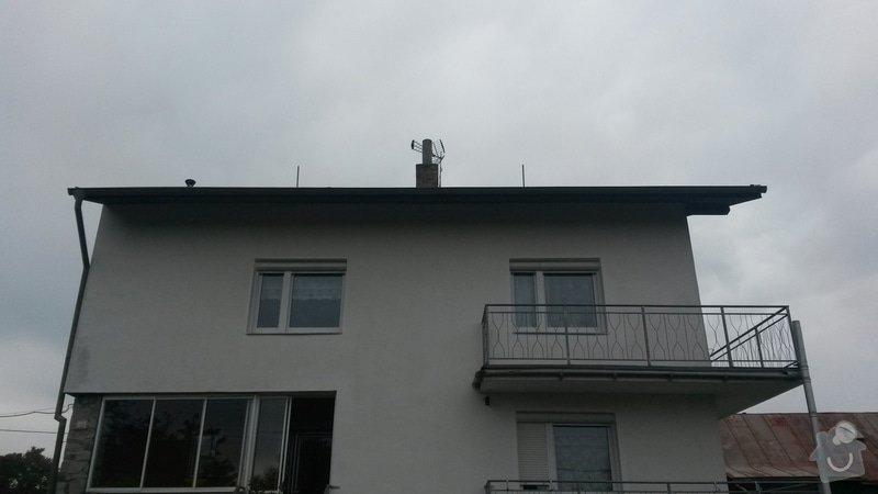 Rekonstrukce střechy RD Rokycany: 20150506_154542