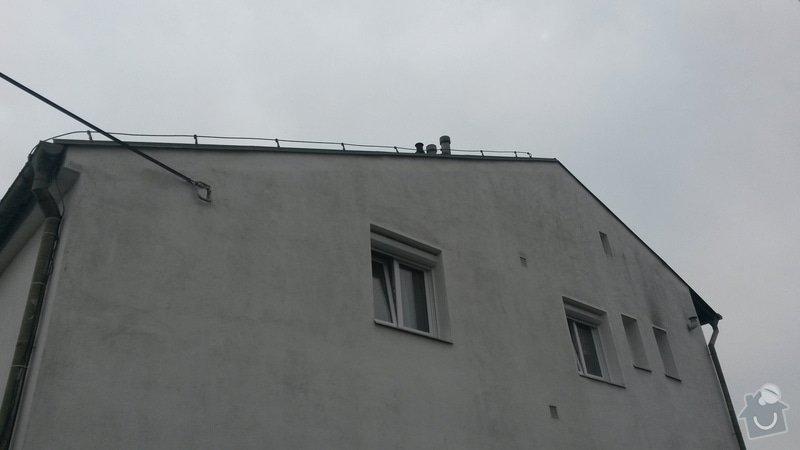 Rekonstrukce střechy RD Rokycany: 20150506_154440