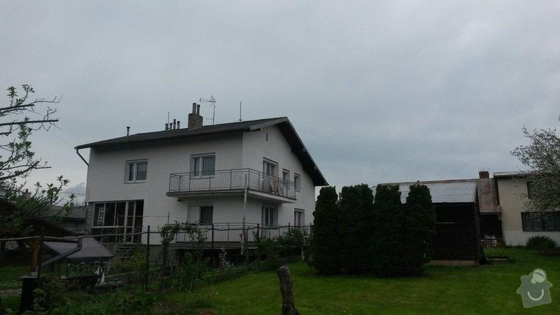 Rekonstrukce střechy RD Rokycany: 20150506_154627