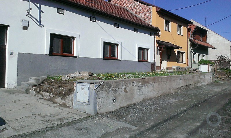 Renovace zídky u předzahrádky: IMAG1864