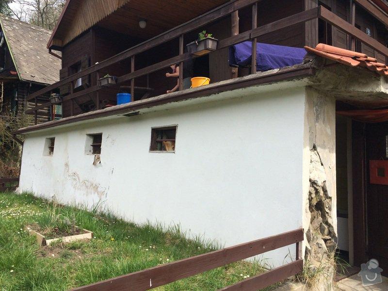 Oprava podezdivky drevene chaty: image