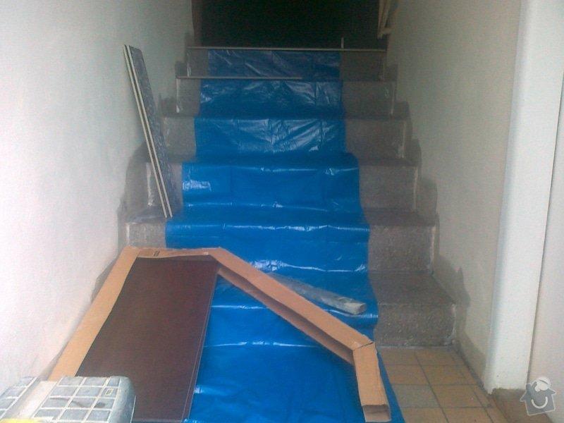 Obložení schodů dlažbou: 060520152042