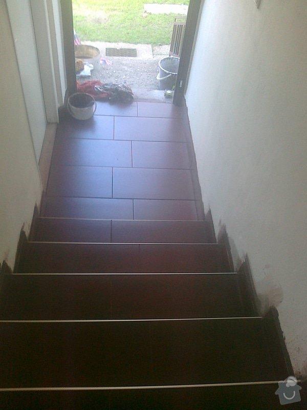 Obložení schodů dlažbou: 070520152047