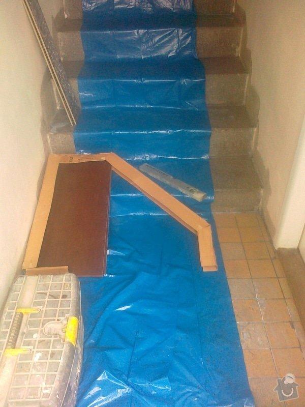Obložení schodů dlažbou: 060520152043