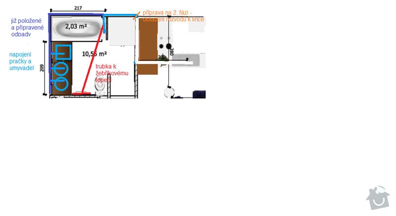 Rekonstrukce koupelny: orient_planek_koupelna