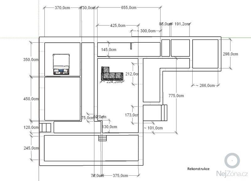 Rekonstrukce rodinného domu: novy-stav