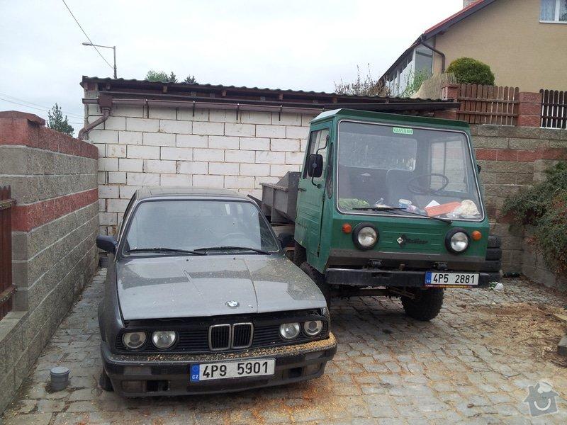Dodělání garáže - fasáda, obklady : 20150503_190650