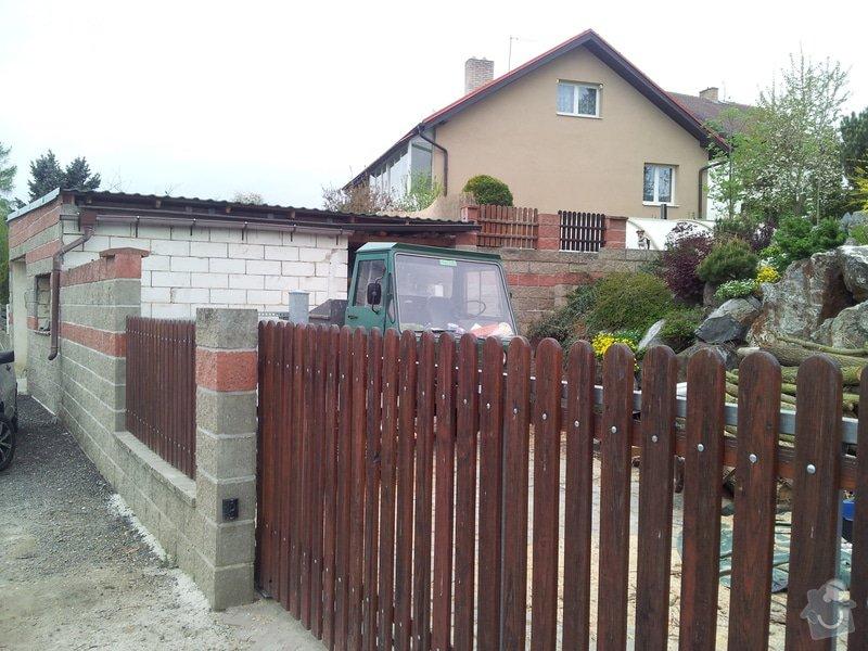 Dodělání garáže - fasáda, obklady : 20150503_190801