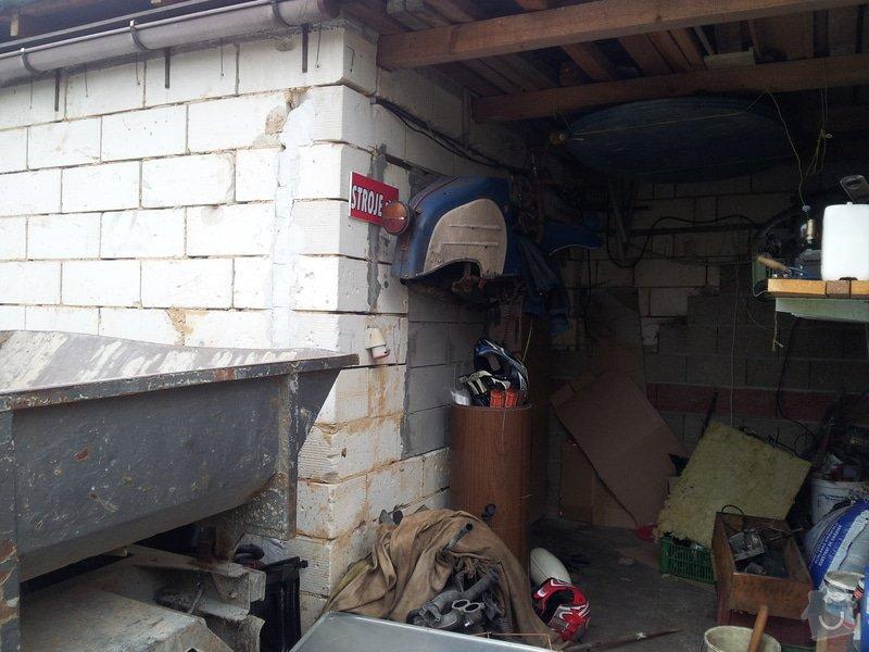 Dodělání garáže - fasáda, obklady : 20150503_190836