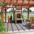 Vybudovani 2 drevenych pergol na zahrade praha 9 klanovice a  zahrada 04 300x225