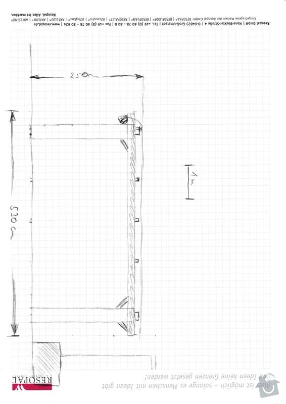 Vybudování 2 dřevěných pergol na zahradě - Praha 9 Klánovice a Praha 5 Košíře: BBQ_draft_2