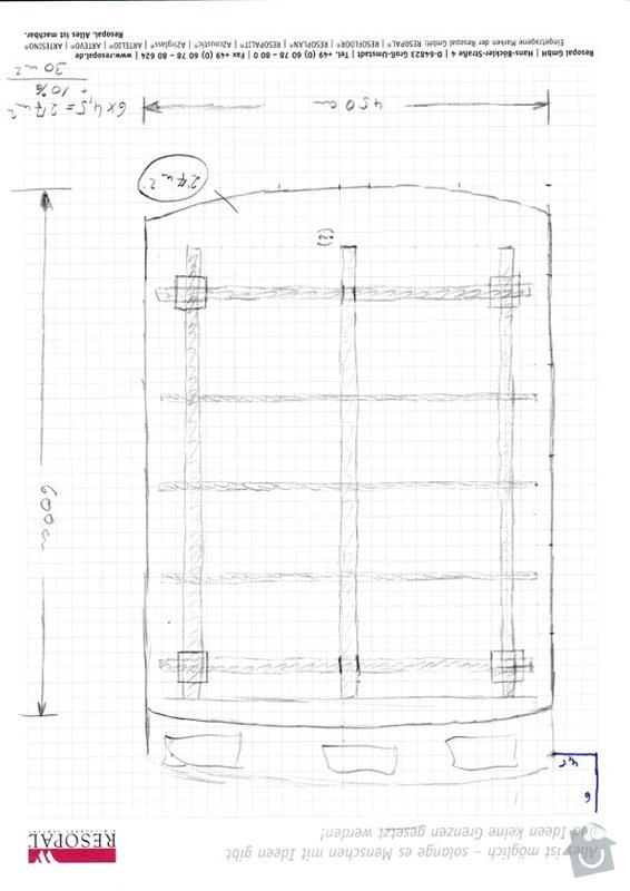Vybudování 2 dřevěných pergol na zahradě - Praha 9 Klánovice a Praha 5 Košíře: BBQ_draft