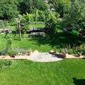 Vybudovani 2 drevenych pergol na zahrade praha 9 klanovice a  pergola kosire 2