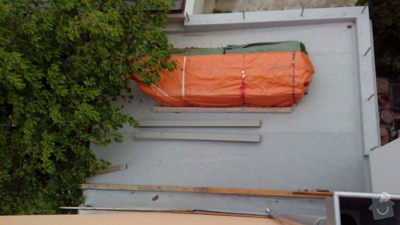 Stavba roštu a pokládka terasových prken cca 30m2: Terasa2