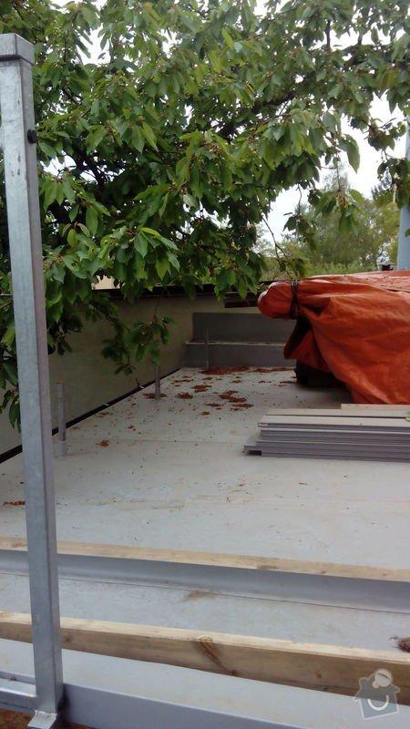 Stavba roštu a pokládka terasových prken cca 30m2: Terasa3