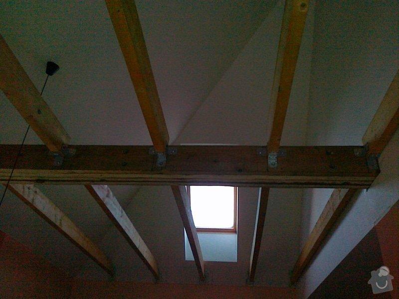 Sádrokartonový podhled  cca 23 m2: 11052015150