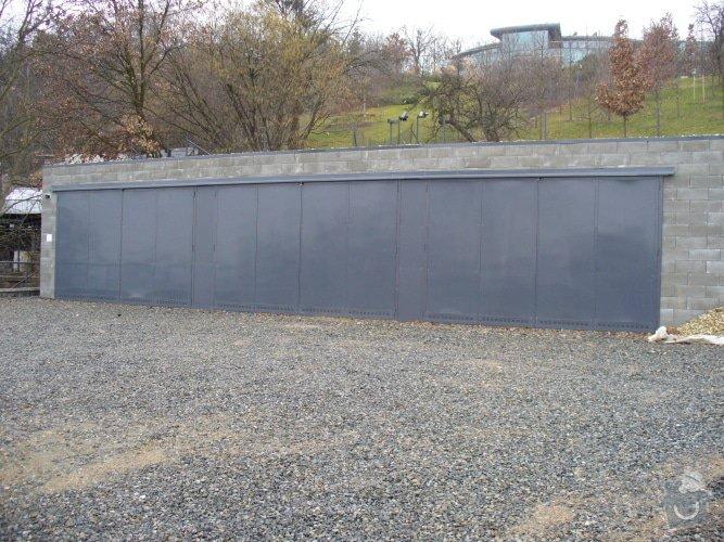 Skládací garážová vrata: brany-ploty-0005-16109