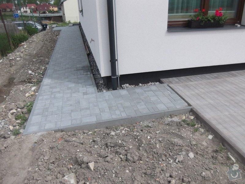 Pokladka terasy a chodnik: 025