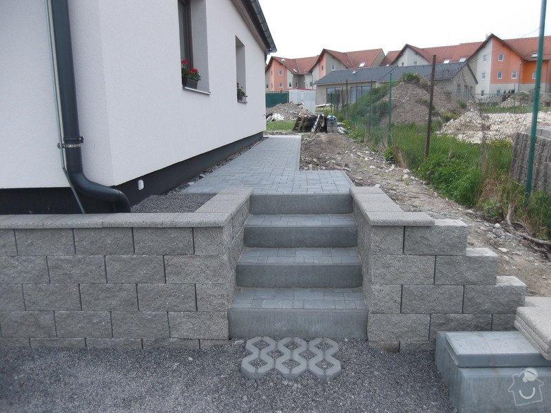 Pokladka terasy a chodnik: 023
