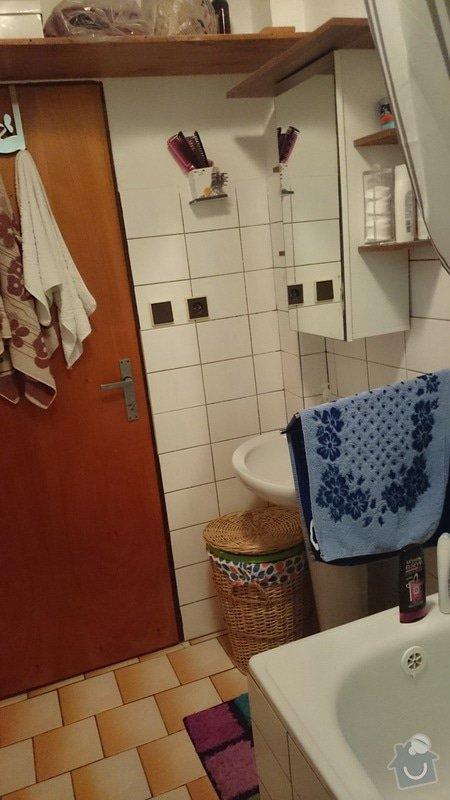 Rekonstrukce koupelny, WC a rozvodů vody: DSC_2613