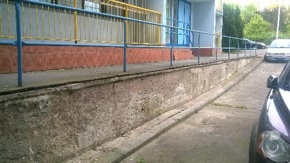 Oprava ramp  u bytového domu: rampy