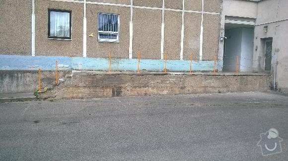 Oprava ramp  u bytového domu: rampy5