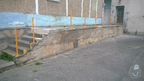 Oprava ramp  u bytového domu: rampy8