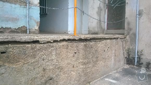 Oprava ramp  u bytového domu: rampy10