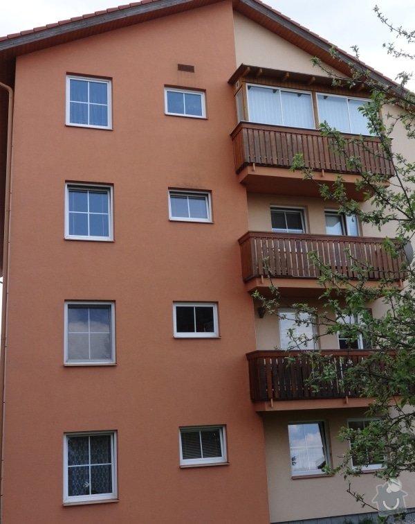Oprava praskliny ve fasádě bytového domu: barak5
